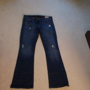 GAP limited edition boot cut Jean's, 27/4
